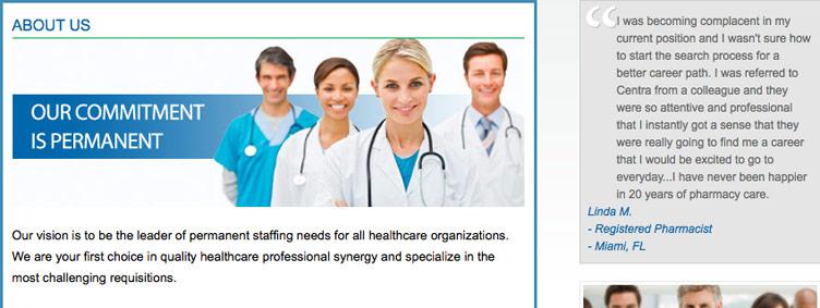 CentraHealthcareSolutions.com